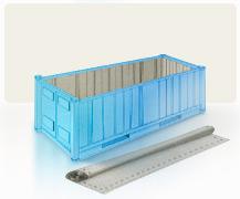 опен топ контейнери, транспорт на контейнери