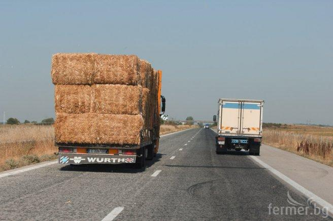 Export of bulgarian straw, in bales 2