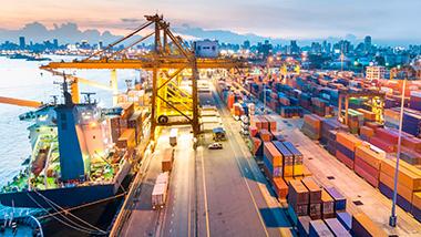 контейнер, пристанище бургас, транспорт